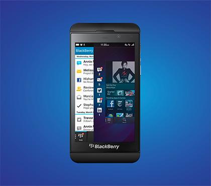 BlackBerry Z10 official