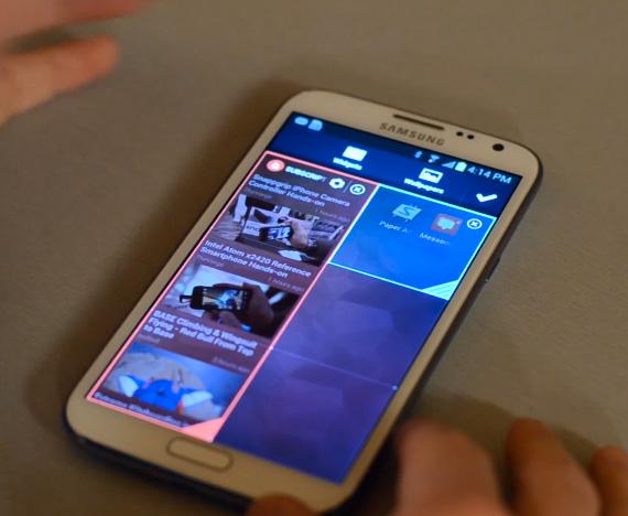 Chameleon Launcher, Widget centric UI για Android tablets και smartphones
