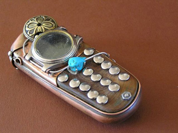 Steampunk smartphones [concepts]