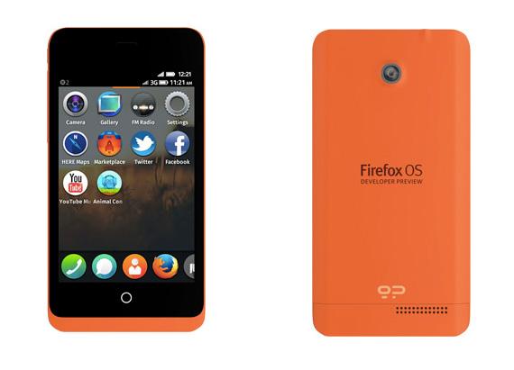 Mozilla Firefox OS Keon smartphone