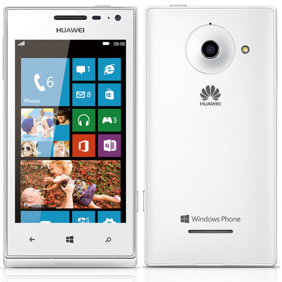 Huawei Ascend W1, Επίσημα