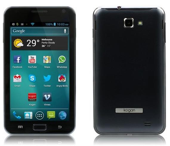 Kogan Agora, Budget smartphone με οθόνη 5 ιντσών και τιμή 150$