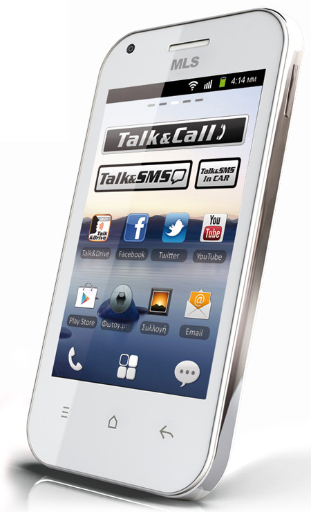 MLS IQTalk Crystal white