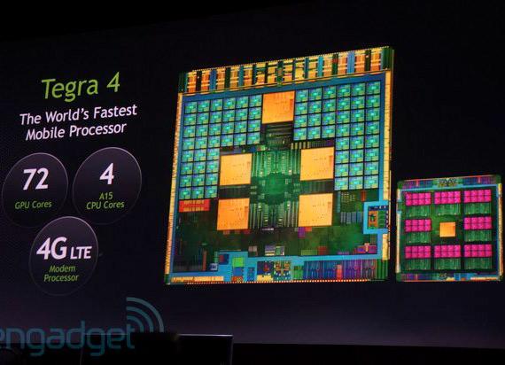 NVIDIA Tegra 4, Επίσημα ο νέος τετραπύρηνος επεξεργαστής Cortex-A15