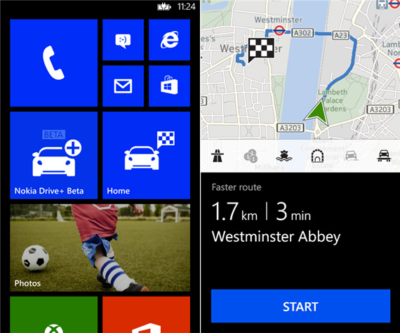 Nokia Drive beta