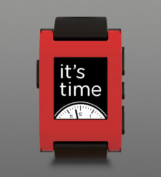 Pebble smartwatch, Τέλος του μήνες ξεκινάει η διάθεσή του