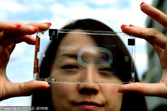 Polytron Technologies Transparent Smartphone