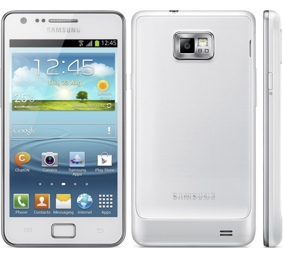 Samsung Galaxy S II Plus, Με οθόνη 4.3 ίντσες Super AMOLED Plus και διπύρηνο επεξεργαστή