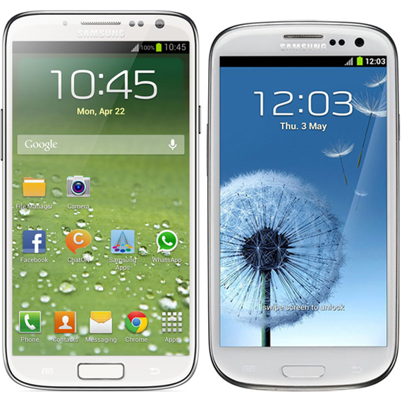 Samsung Galaxy S IV vs Galaxy S III