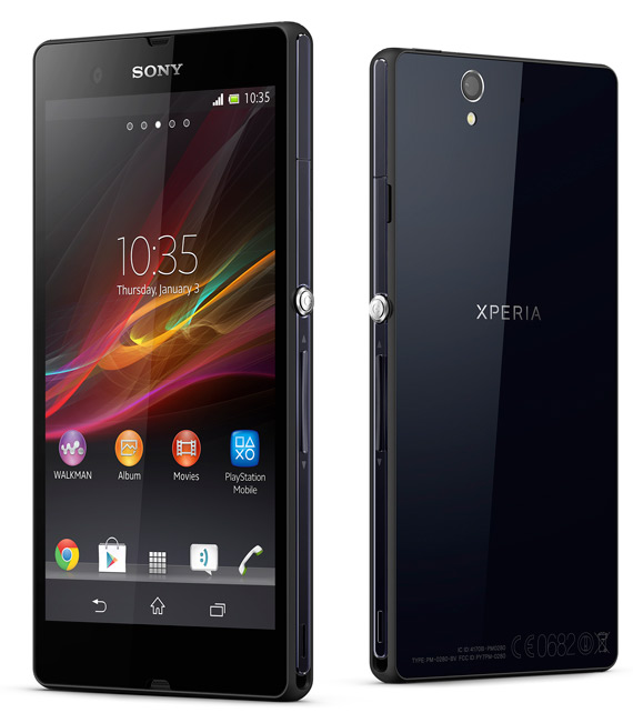 Sony Xperia Z πλήρη τεχνικά χαρακτηριστικά και αναβαθμίσεις