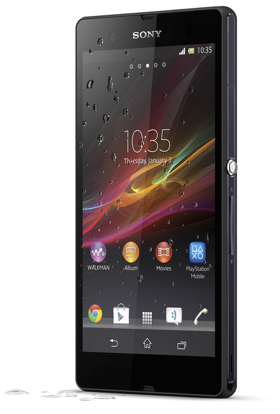 Sony Xperia Z wet