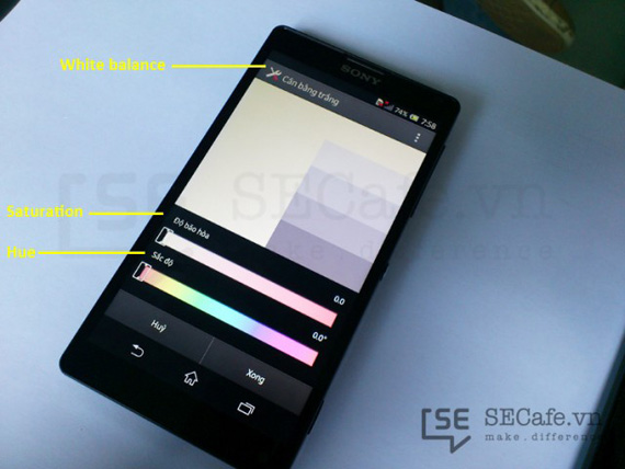 Sony Xperia ZL calibration tool