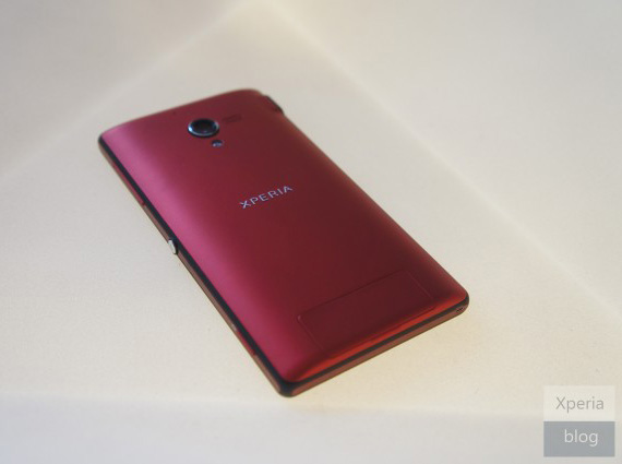 Sony Xperia ZL red