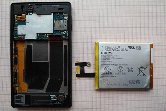 Sony Xperia Z teardown