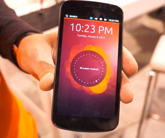 Ubuntu Phone OS τρέχει σε ένα Galaxy Nexus