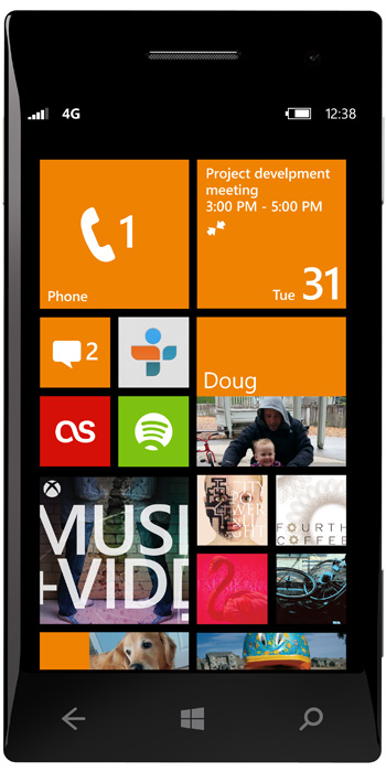 Windows Phone 8 smartphone
