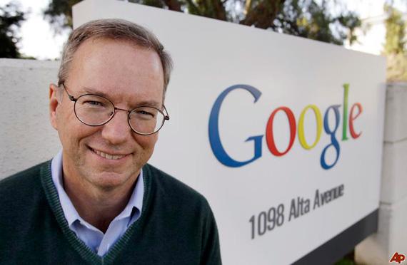 O Eric Schmidt της Google, στη Βορεια Κορέα