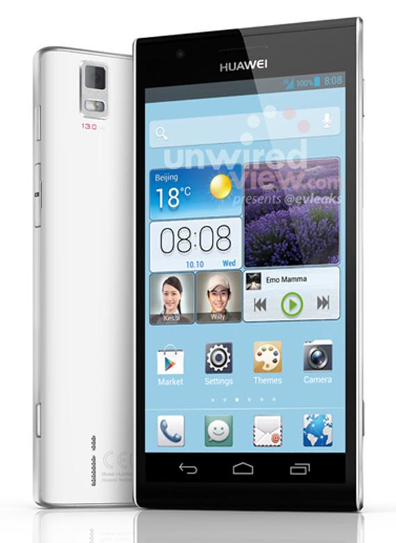 Huawei Ascend P2 leak press photo