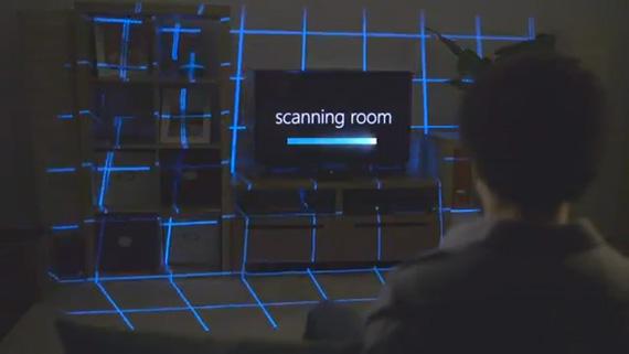 Microsoft IllumiRoom