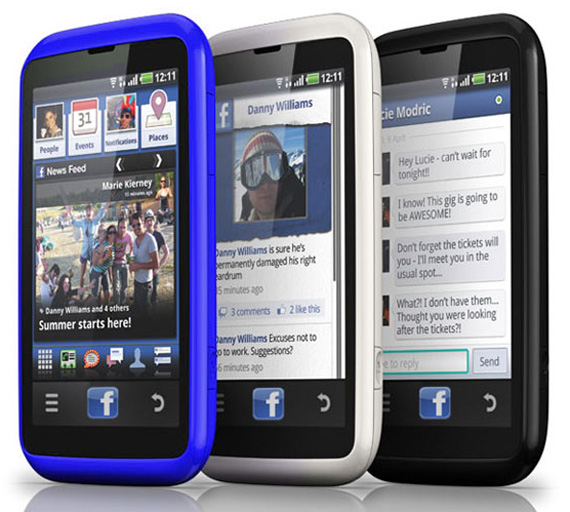 HTC Myst facebook phone