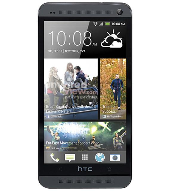 HTC One M7 black