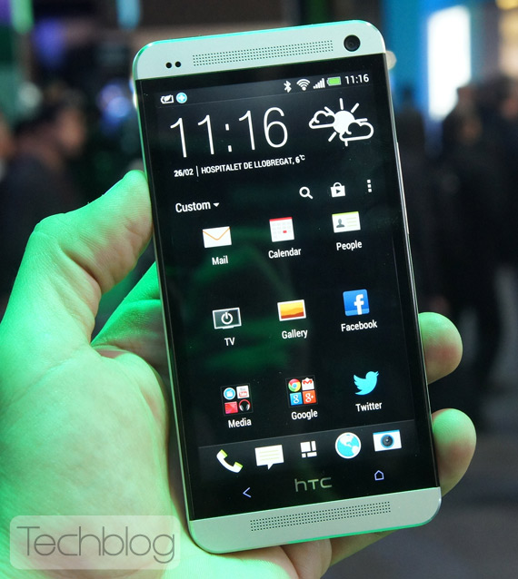 HTC One MWC 2013 hands-on