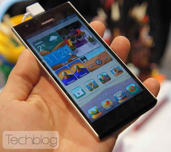 Huawei Ascend P2 MWC 2013 Techblog