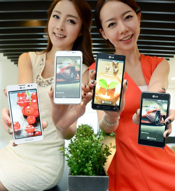 LG Optimus F7 και Optimus F5