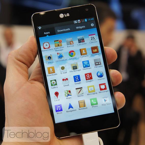 LG Optimus G MWC 2013