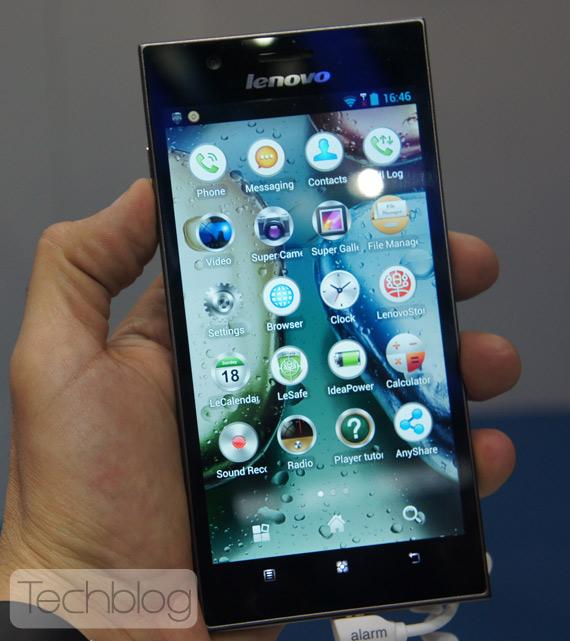 Lenovo K900 MWC 2013 Techblog