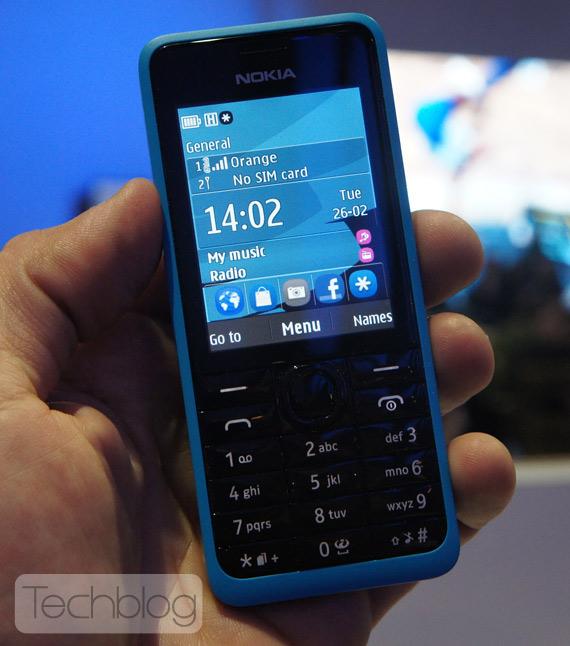Nokia 301 MWC 2013