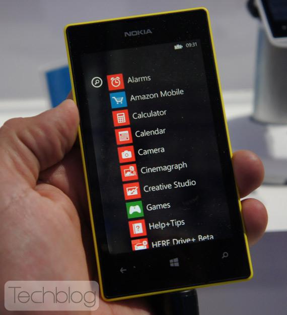 Nokia Lumia 520 MWC 2013