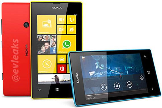 Nokia Lumia 520 leak