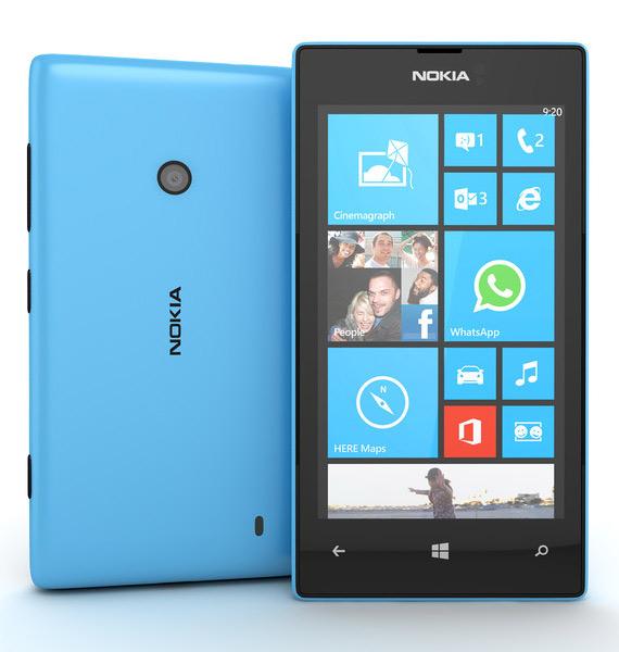 Nokia Lumia 520 πλήρη τεχνικά χαρακτηριστικά και αναβαθμίσεις
