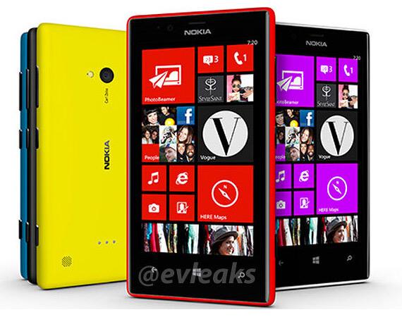 Nokia Lumia 720 leak