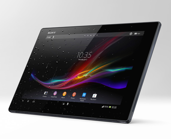 Sony Xperia Tablet Z water