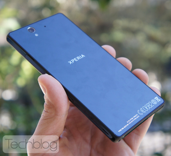 Sony Xperia Z Techblog