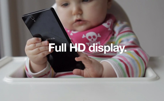 Sony Xperia Z baby hands-on
