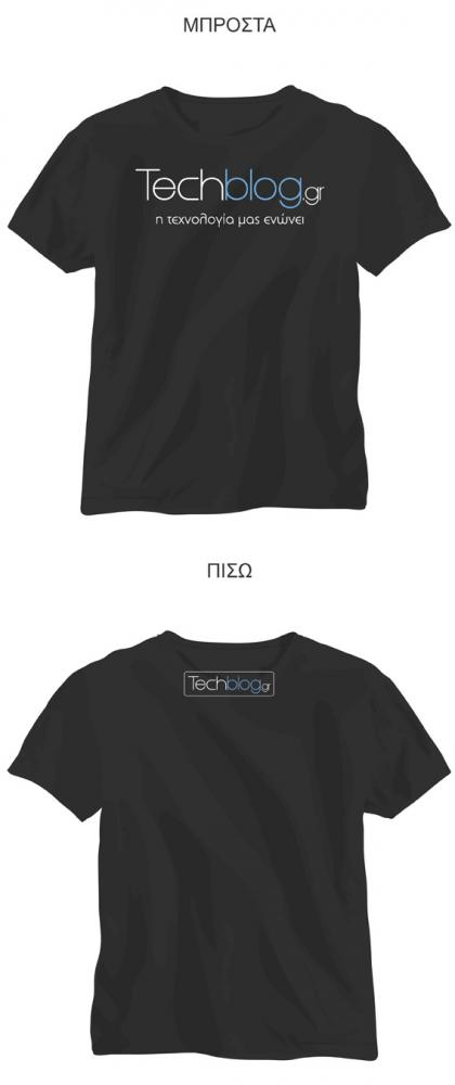 Techblog t-shirt