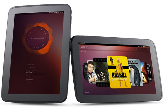 Ubuntu for tablets OS