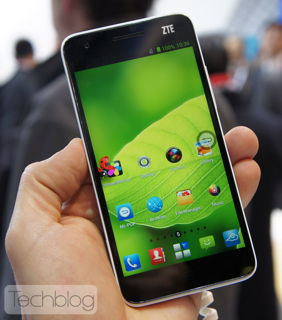 ZTE Grand S MWC 2013 Techblog