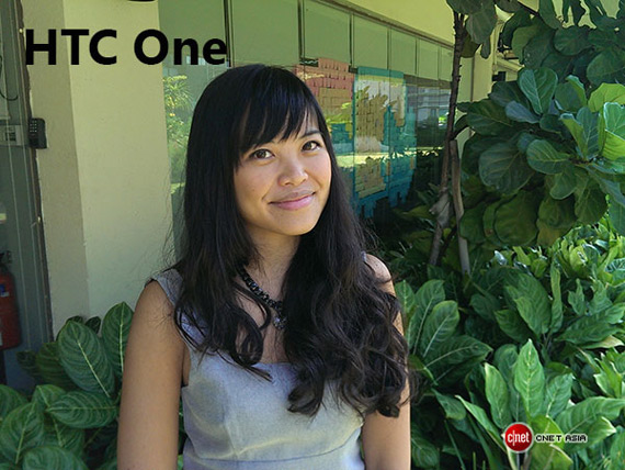 HTC One portrait