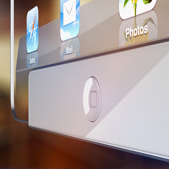 iPad transparent concept
