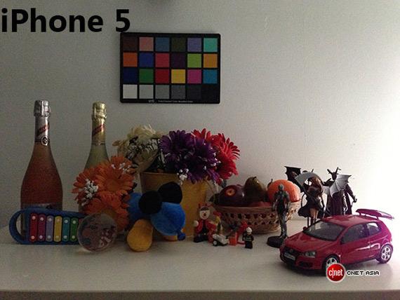 iPhone 5 studio lowlight