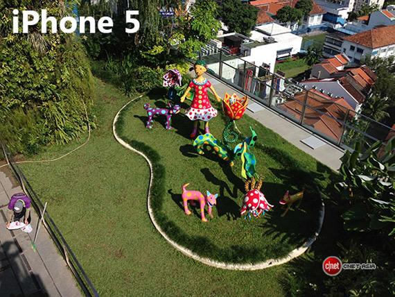 iPhone 5 outdoor