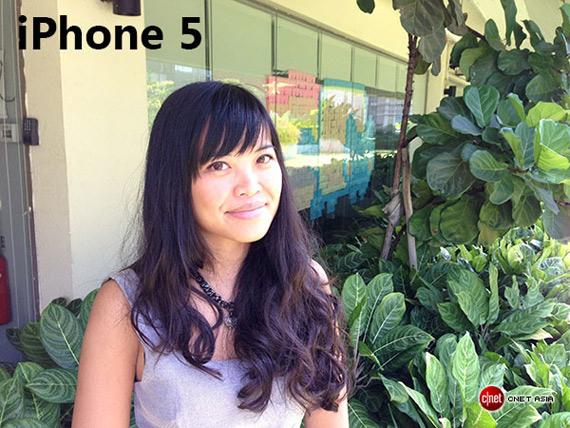 iPhone 5 portrait