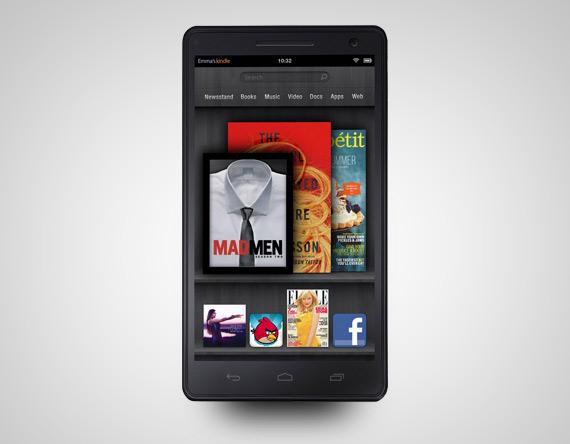 Amazon smartphone mockup