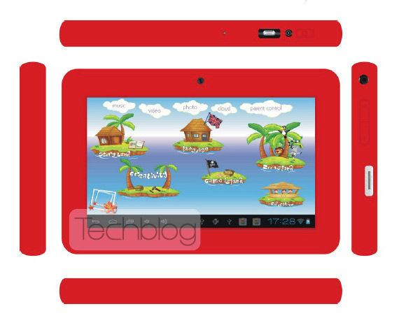 Connect Me TS-713K Education Pad