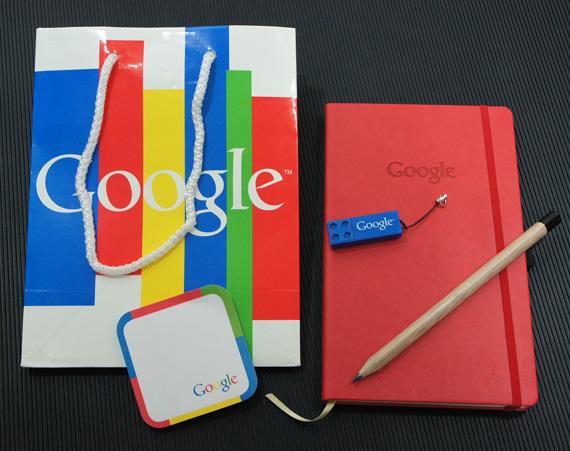 Goodie Bag με συλλεκτικά δωράκια Google