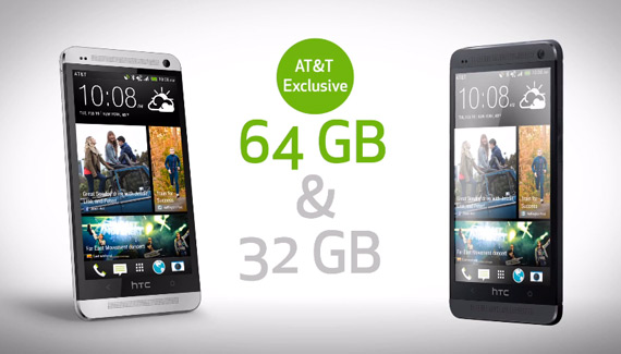 HTC One 64GB AT&T